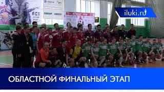 Финальный этап чемпионата области по мини футболу