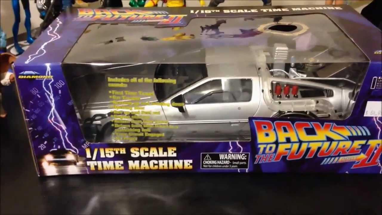 Del 115thUnboxing Machine Futuro Tiempotime Maquina Volver Al Escala sCdQrxth