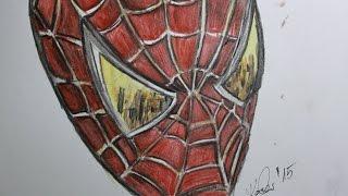 How to draw Amazing Spiderman / Jak narysować Spiderman