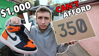 MY TOP 10 MOST EXPENSIVE SNEAKERS I OWN! CAN YOU AFFORD THESE?