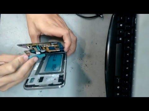 Desmontando Samsung Galaxy E7 E700 retirando display com lente