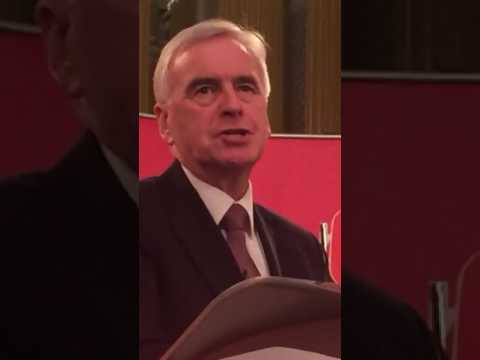 John McDonnell campaigning in Liverpool