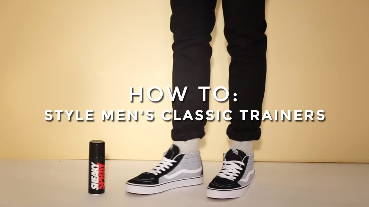 fe9b12a52a How to Style Men s Classic Trainers
