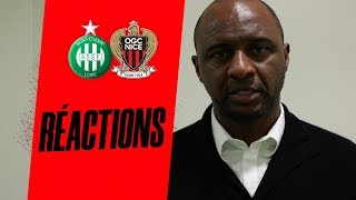 VIDEO: St-Etienne 4-1 Nice : la réaction de Patrick Vieira