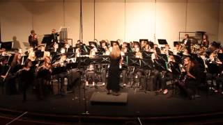 Richardson North JH Symphonic Band Spring Concert - Green Bushes (Grainger)