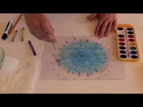 Drawing Lines Of Symmetry Free Worksheets : Radial symmetry art project grades k youtube