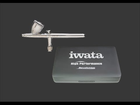 Iwata Revolution CR Scale Model Tool Review