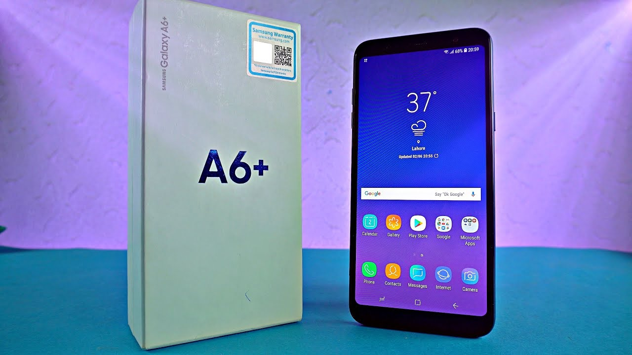 samsung galaxy a6 plus infinity dual camera unboxing. Black Bedroom Furniture Sets. Home Design Ideas