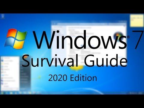Windows 7 Survival Guide   2020 Edition
