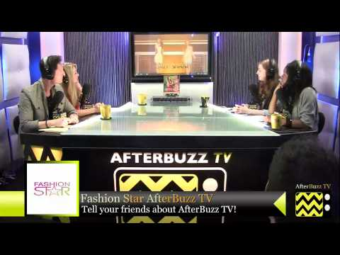 """Fashion Star After Show Season 1 Episode 9 """" Buyer's Choice """"   AfterBuzz TV"""