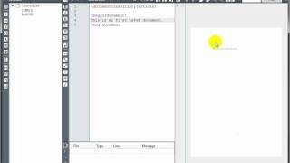 LaTeX Tutorial 1 - Creating a LaTeX Document thumbnail