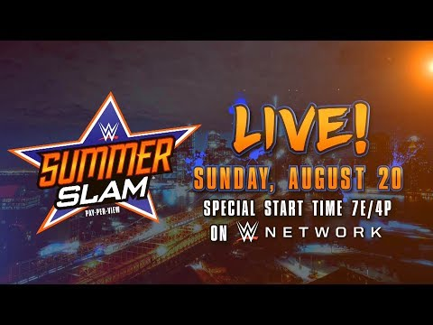 Watch SummerSlam 2017 - Aug. 20 on WWE...
