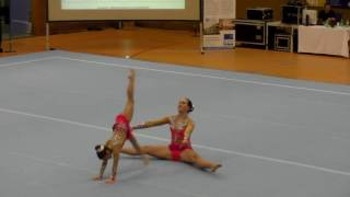 Sachsenpokal 2016   140   042   Women's Pair   Age Group   Balance   GER   SAV Schwarzenberg GER, Vi