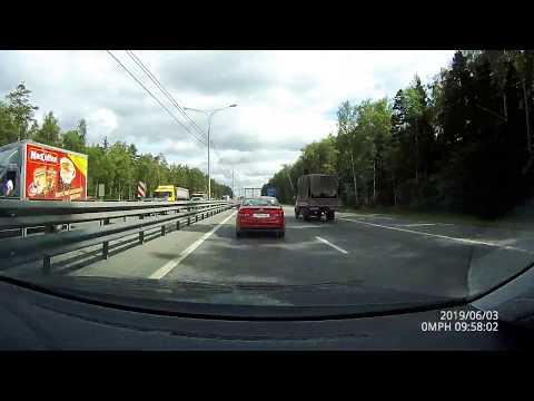 Трасса М8 Москва - Ярославль в июне 2019 за 2 часа 30 мин. в реальном времени!