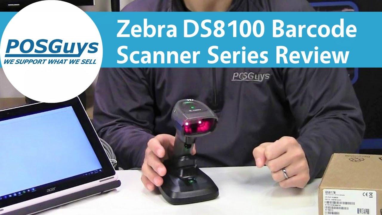 Zebra DS8100 Barcode Scanner Series Review - POSGuys com