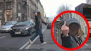 Agresywny pieszy w Bielsku-Białej ▪ polskiedrogiPLUS