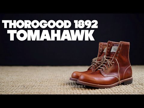Thorogood 1892 | Tomahawk Horween Chromexcel | The Boot Guy Reviews