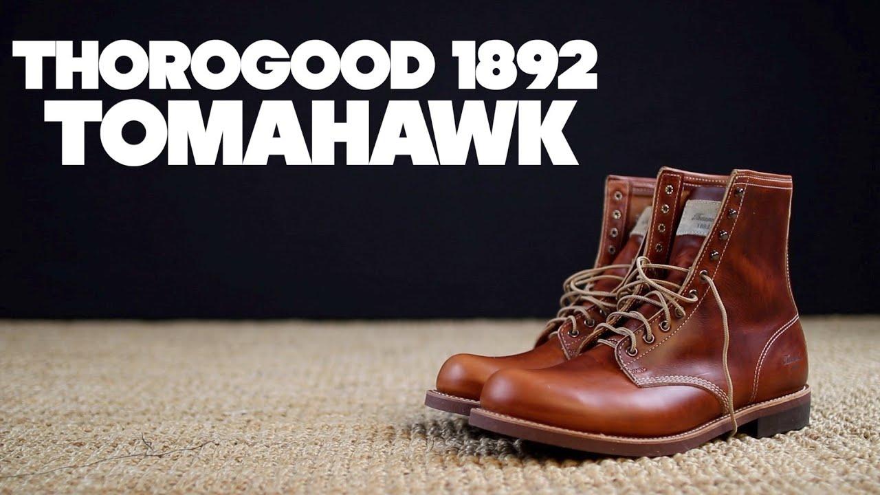 e54b8ec3bc6 Thorogood 1892   Tomahawk Horween Chromexcel   The Boot Guy Reviews
