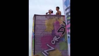 Run or Dye Hartford CT-National Anthem-Kayla Espos