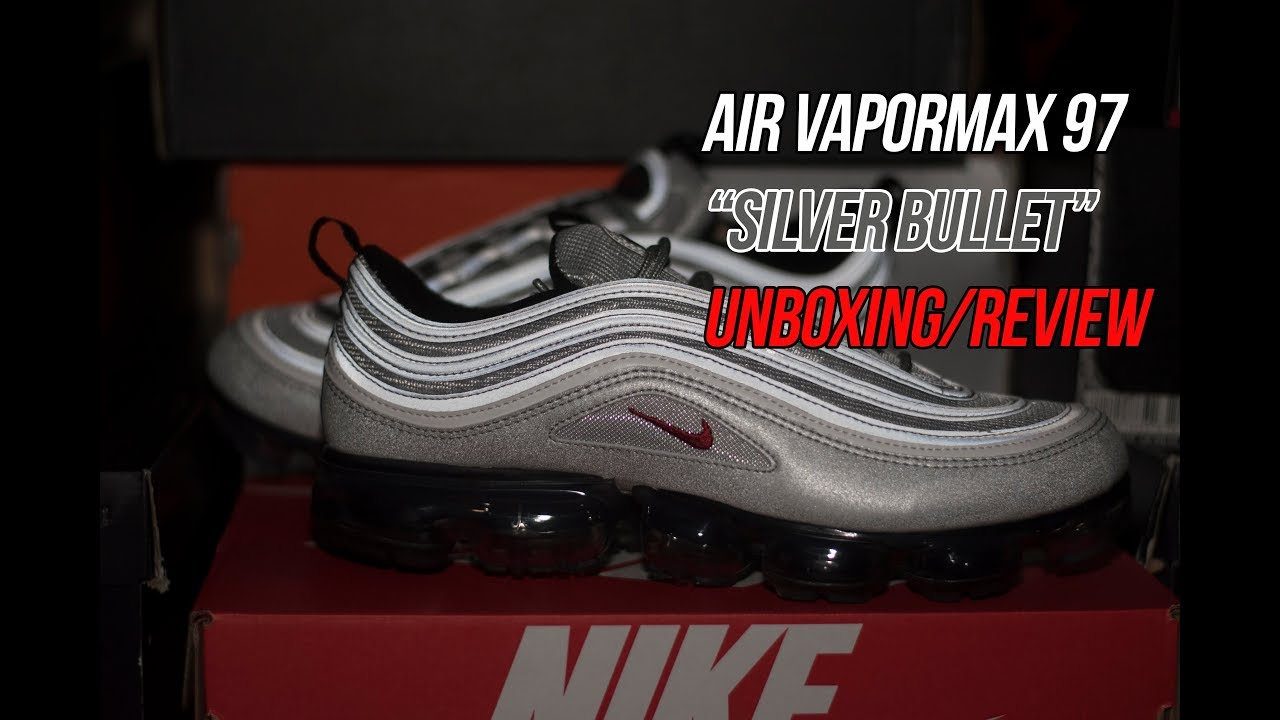 aaa1683363b Air Vapormax 97 Silver Bullet: Sneaker Unboxing and Review