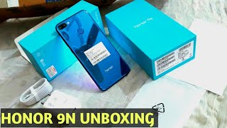 Honor 9n unboxing sapphire blue