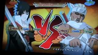 naruto shippuden ultimate ninja storm 2 sasuke vs killer bee