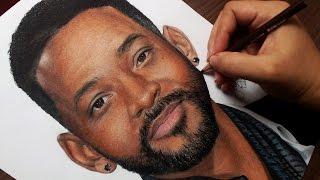 Desenhando o Will Smith