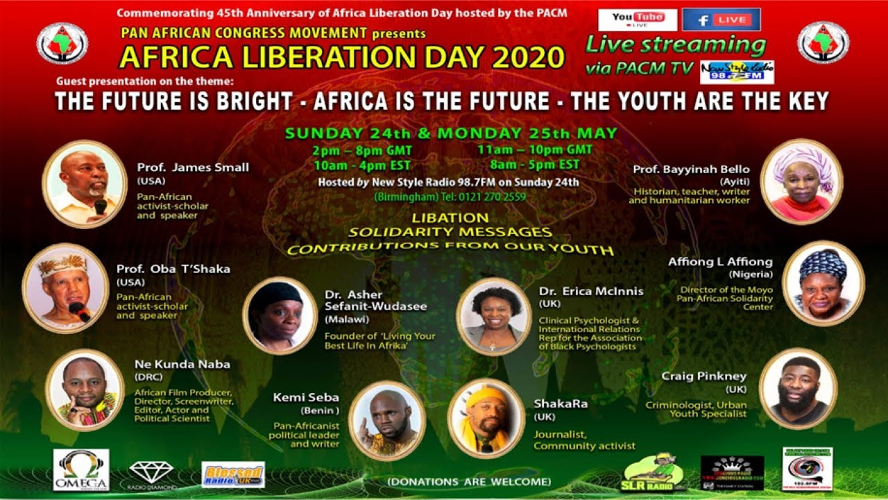 Africa Liberation Day 2020 PACMTV