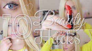 10 easy BEAUTY HACKS  mit großer Wirkung ♥ BibisBeautyPalace Thumbnail