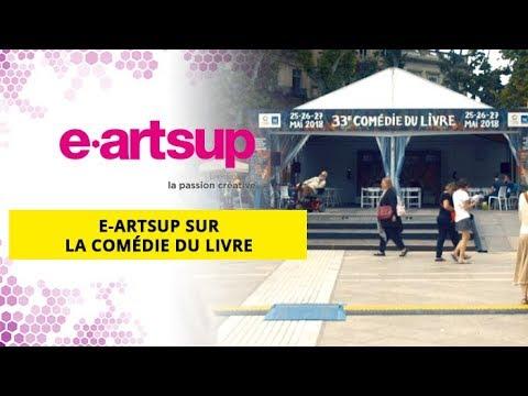 e-artsup à la Comédie du livre de Montpellier 2018