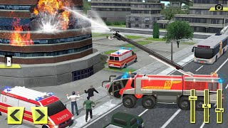 Real Firefighter Training 2020 - Fire Truck Rescue Simulator - Android GamePlay screenshot 2