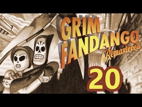 2P Grim Fandango: Remastered (Blind) - Part 20 - Still Looks Like Wood to Me
