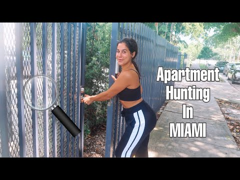 I WENT APARTMENT HUNTING IN MIAMI!