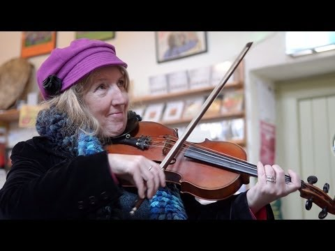 Josephines Walz   session in Dingle music shop