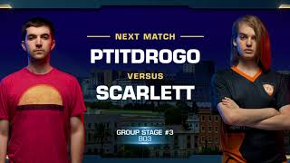 Decider Match: Scarlett vs PtitDrogo ZvP - Group Stage - WCS Valencia 2018 - StarCraft II