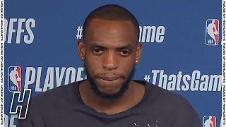 Khris Middleton Postgame Interview - Game 3 - Nets vs Bucks