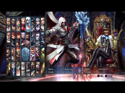 Soulcalibur V All Characters (Including Devil Jin) [PS3]
