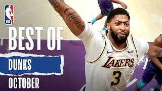 NBA's Best Dunks | October 2019-20 NBA Season