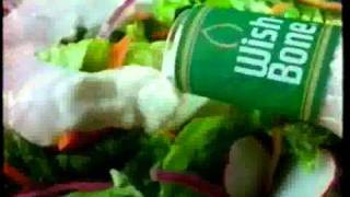 Wishbone salad dressing commercial
