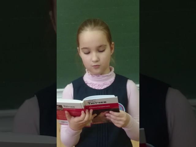 Изображение предпросмотра прочтения – АленаГоряинова читает произведение «Весенняя гроза (Люблю грозу вначале мая…)» Ф.И.Тютчева
