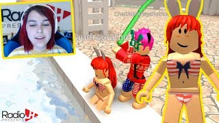 Summer FUN At The WATERPARK With Gamer Chad | Roblox Gameplay