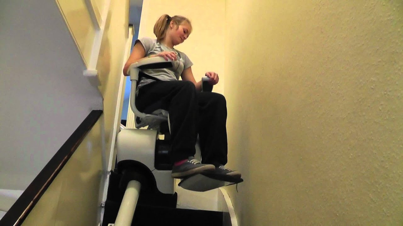 Flow Stairlifts for Narrow Stairs  YouTube