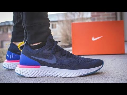 sports shoes 0f43f 203c8 Nike epic flyknit shoes from Snapdeal Unboxing