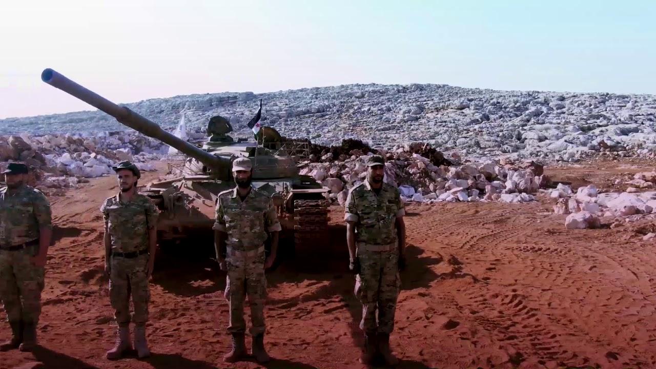 #جيش_العزة  تخريج دورة إختصاص الدبابات ضمن معسكر الشهيد عبد الباسط الساروت