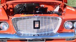 1960 Valiant V200 Four Door Sedan Red LakeMirror101715