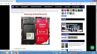 Itel p32 flash file frp fix hang logo fix dead recovery firmware