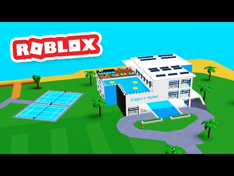 HOTEL UPDATE in Roblox Airport Tycoon |