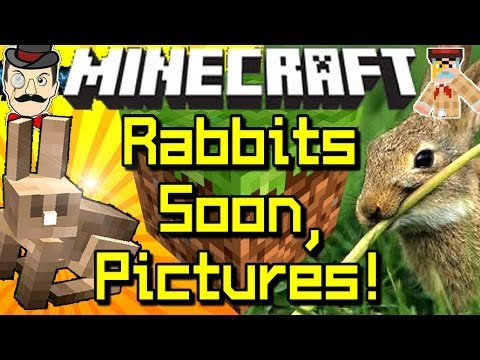 Minecraft News RABBITS COMING SOON! First Pictures!