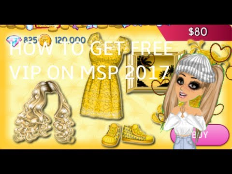 HOW TO GET FREE VIP ON MSP 2017-2018 *WITH PROOF*