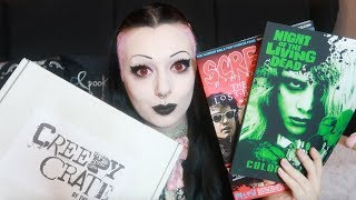 Creepy Crate Unboxing!   Toxic Tears